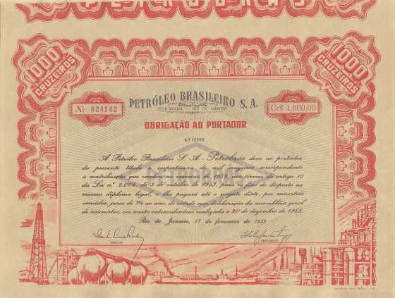 we are selling the petrobrass bonds